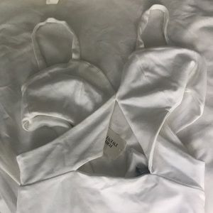 Dresses & Skirts - Forever 21 white cutout dress